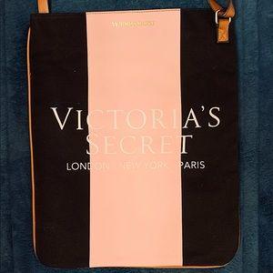 Victoria's Secret Crossbody Bag, Black/Pink, NWOT!